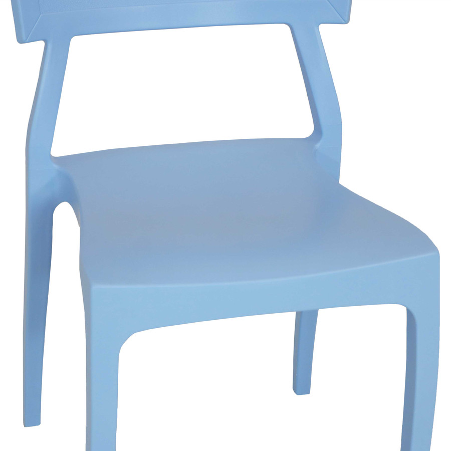 Light Blue Seat Closeup