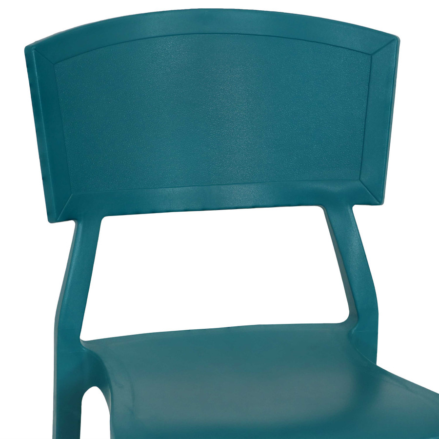 Teal Seat Back Closeup