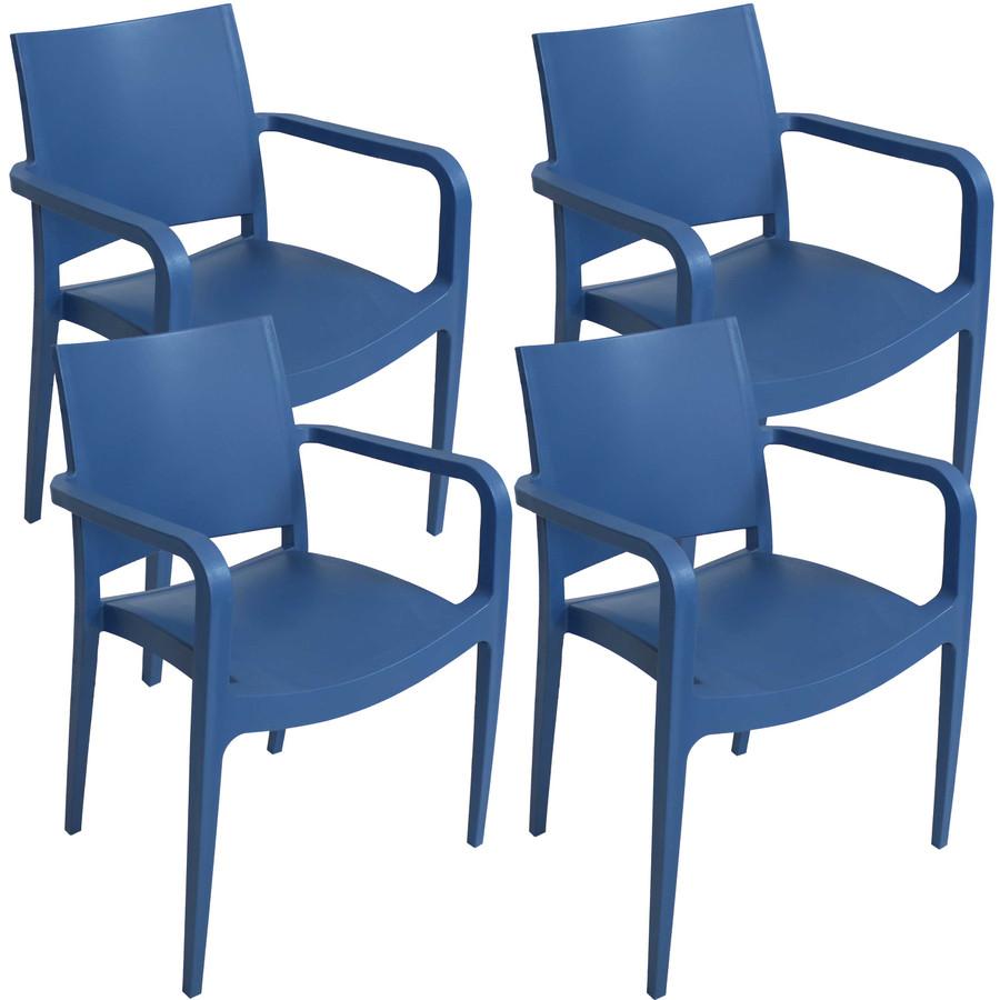 Sax Blue Set of 4
