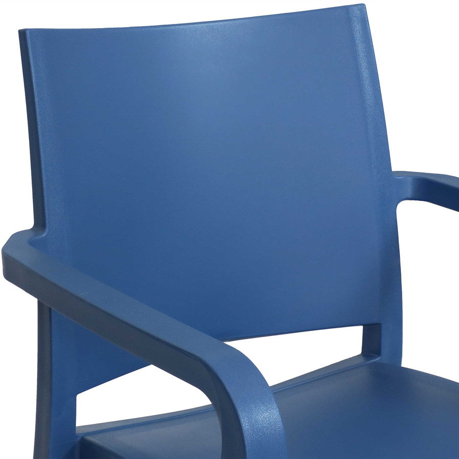 Sax Blue Seat Back Closeup