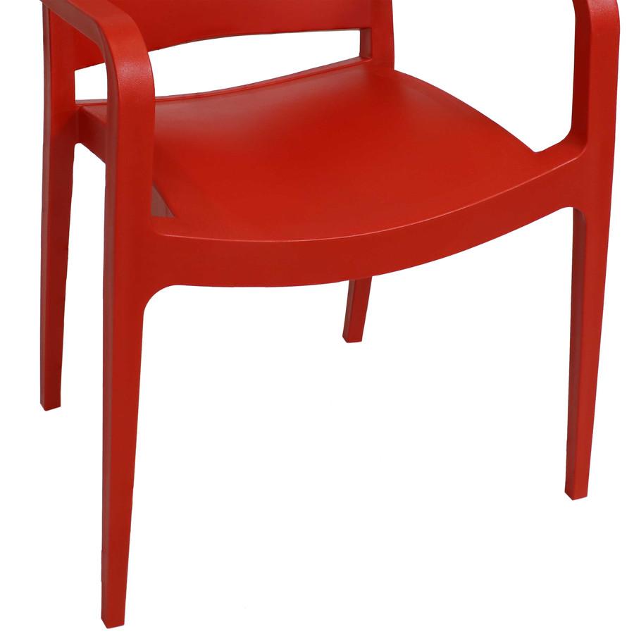 Red Seat Closeup