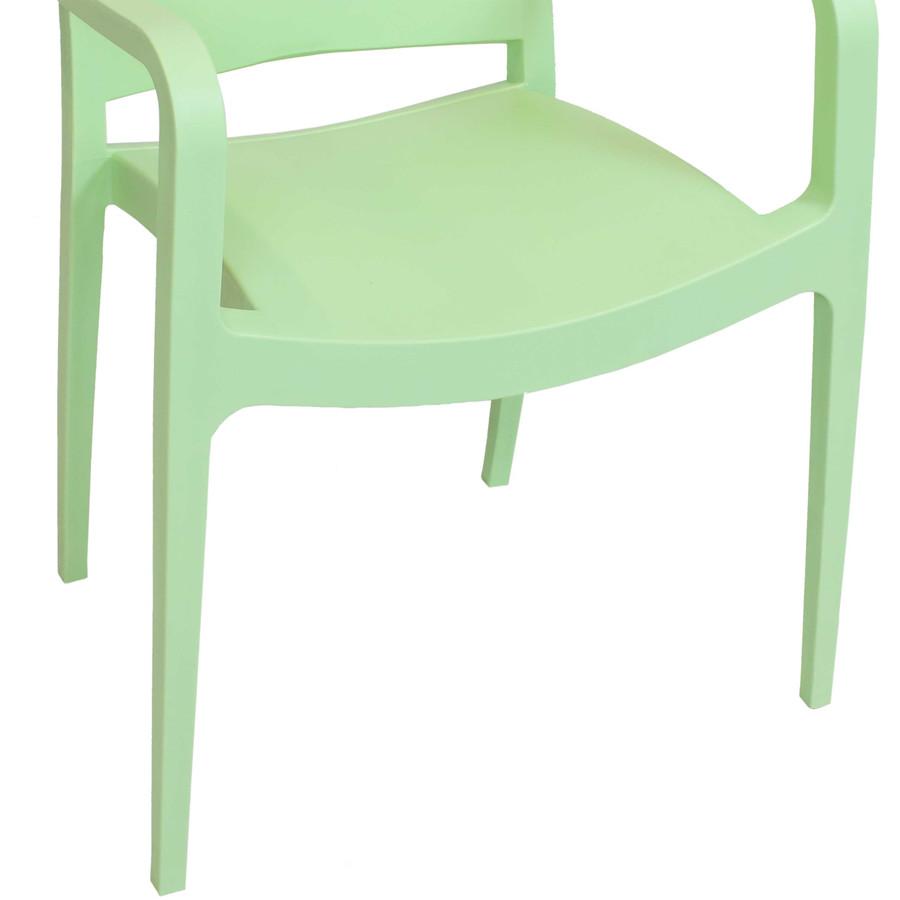 Green Seat Closeup