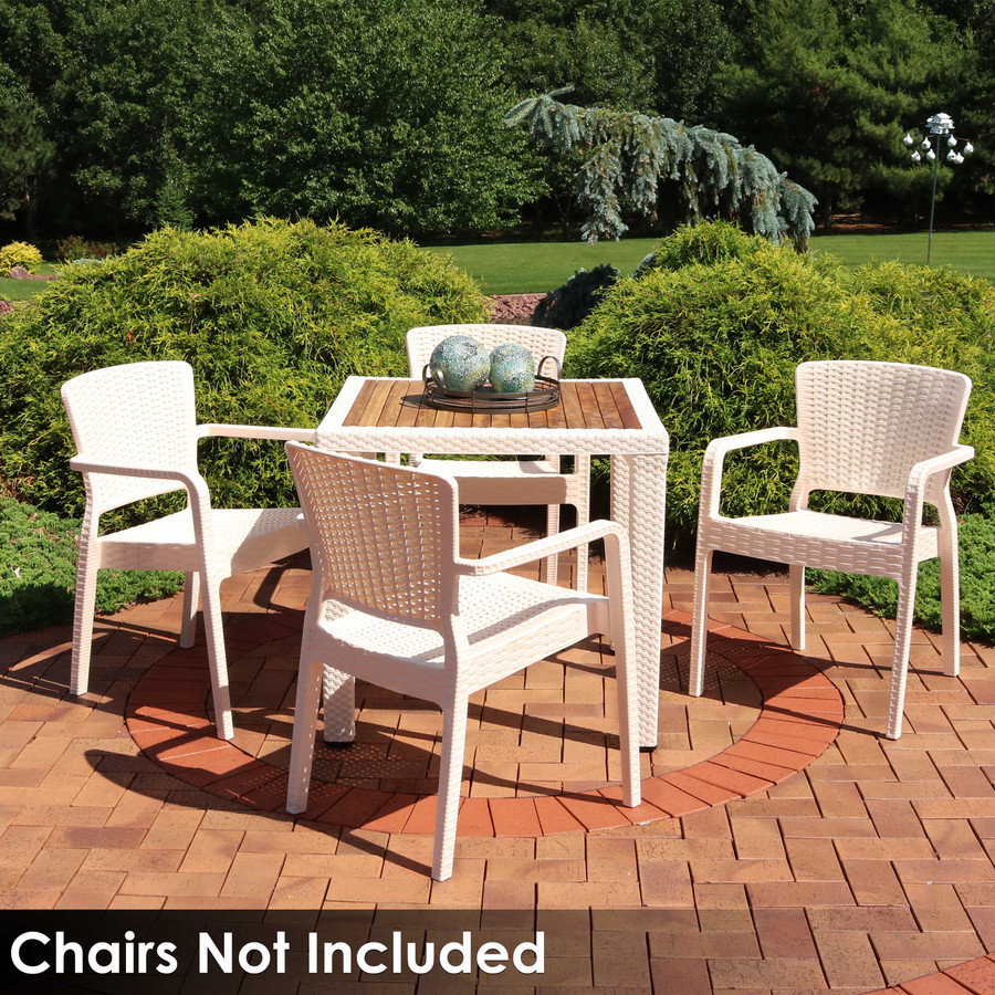 Chairs Not Included