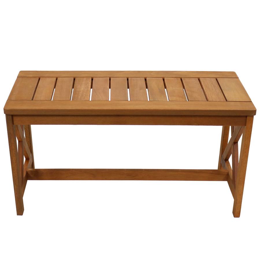 Meranti Wood Outdoor Patio Coffee Table