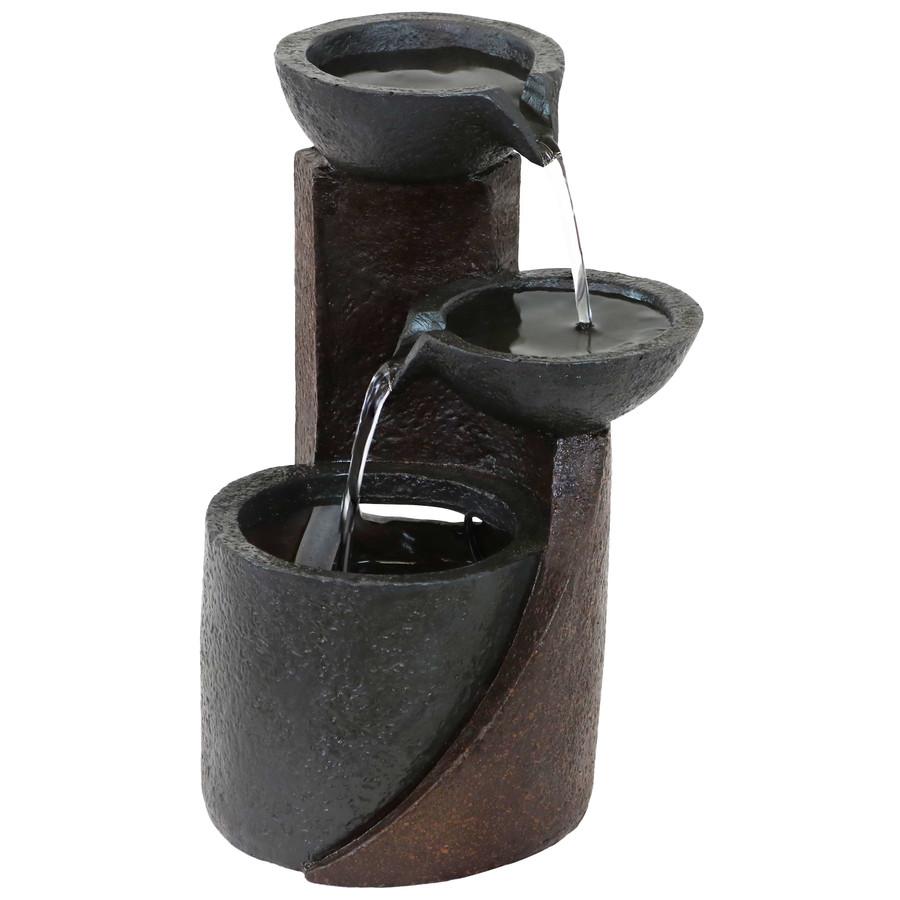 Descending Bowls Indoor Tabletop Water Fountain