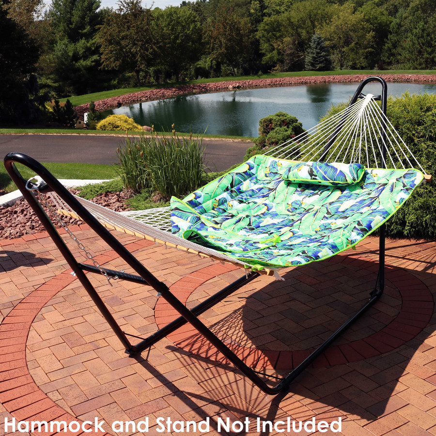 Hammock and Stand Not Included