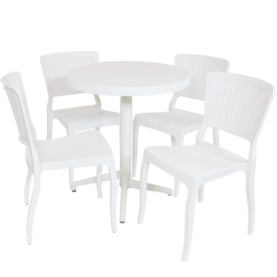 Sunnydaze All-Weather Hewitt 5-Piece Patio Furniture Dining Set