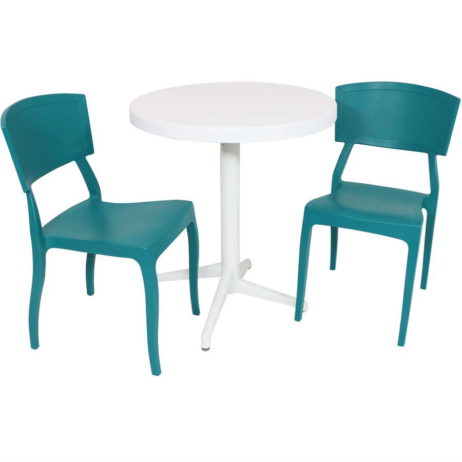 Sunnydaze All-Weather Elmott 3-Piece Patio Furniture Dining Set
