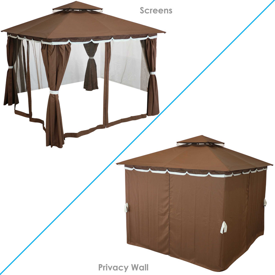 Mosquito Screen and Privacy Wall