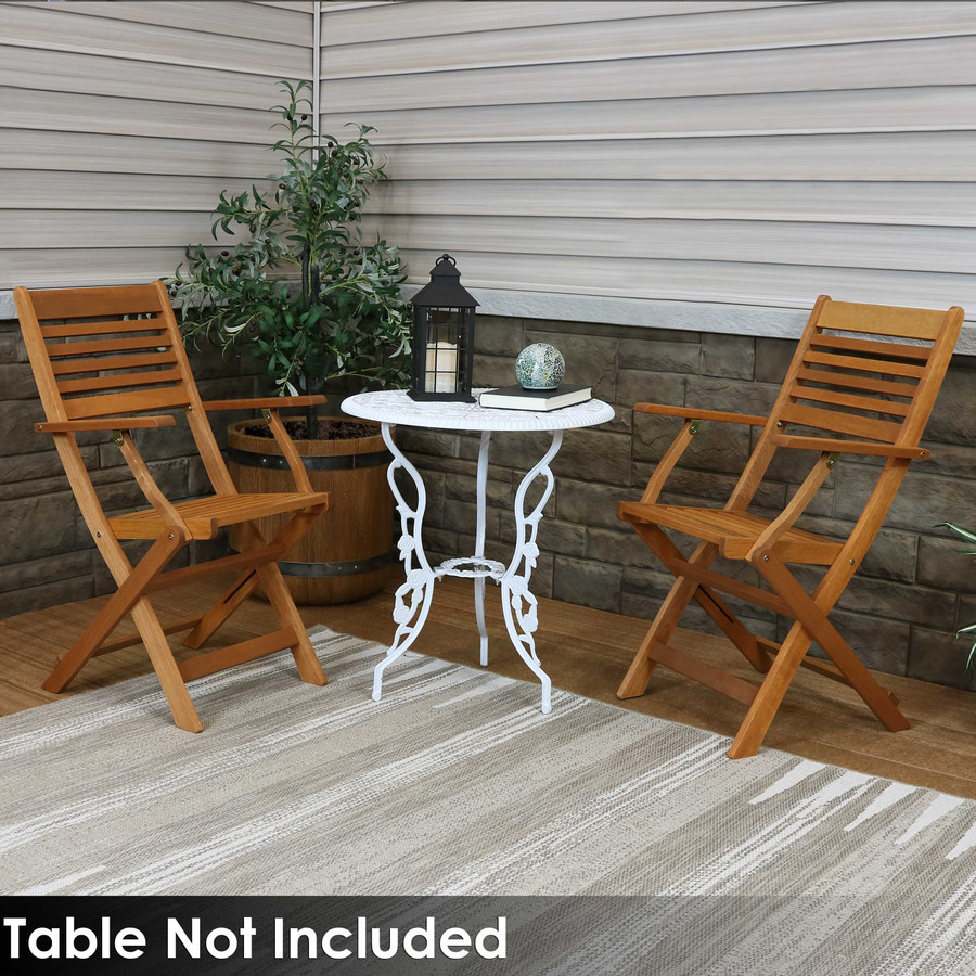Set of 2 Chairs (Table Not Included)