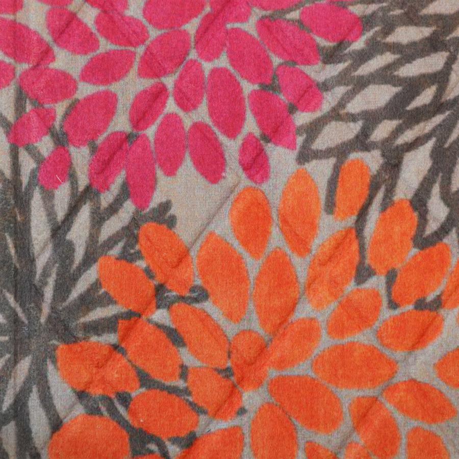 Pink/Orange Floral