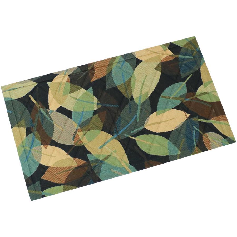 """Sunnydaze Kitchen Floor Mat - 17"""" L x 29"""" W - Leafy Greens"""