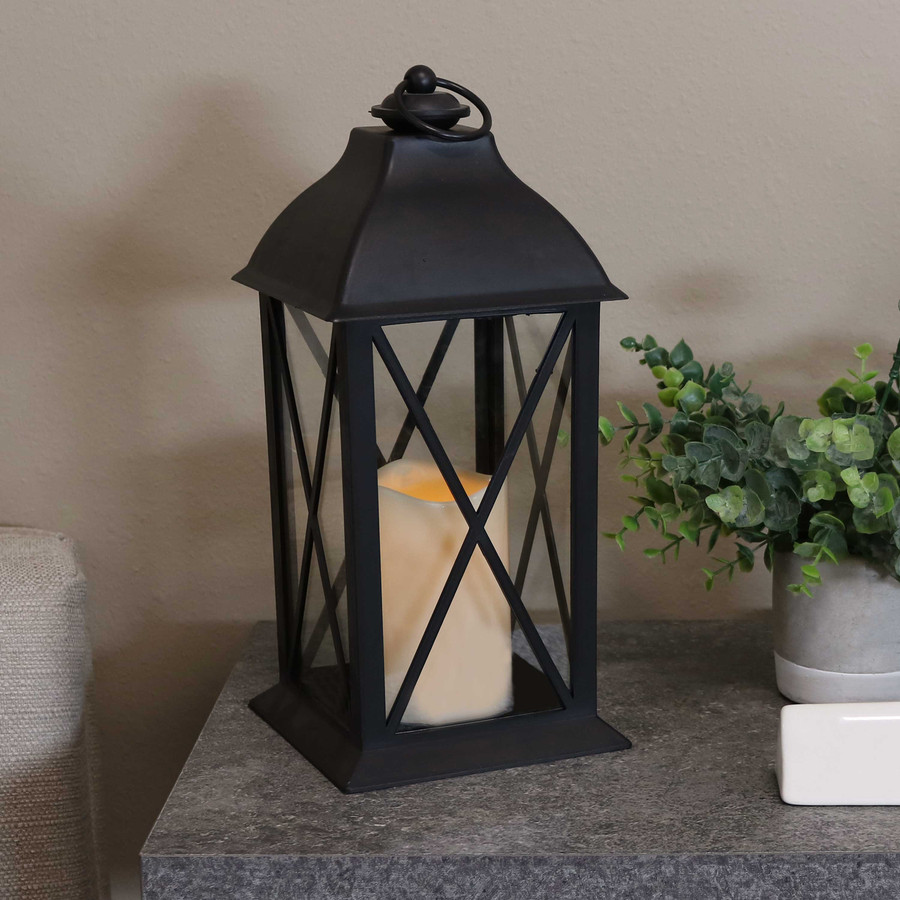 Lexington Indoor Decorative LED Candle Lantern, Single