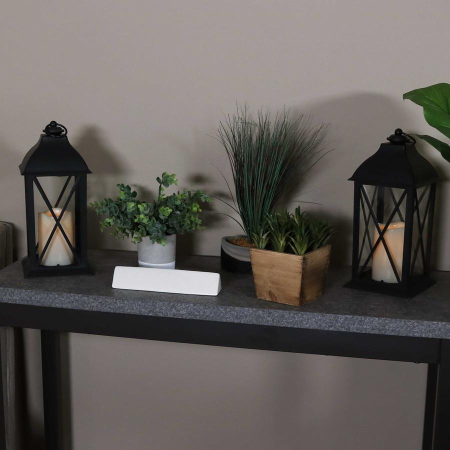 Lexington Indoor Decorative LED Candle Lantern, Set of 2