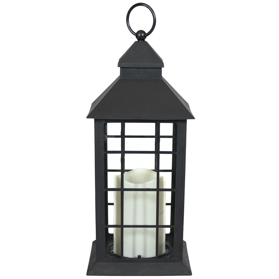 Fairfax Indoor Decorative LED Candle Lantern, Single