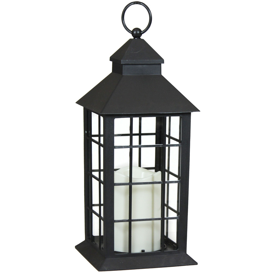 Fairfax Indoor Decorative LED Candle Lantern, Single