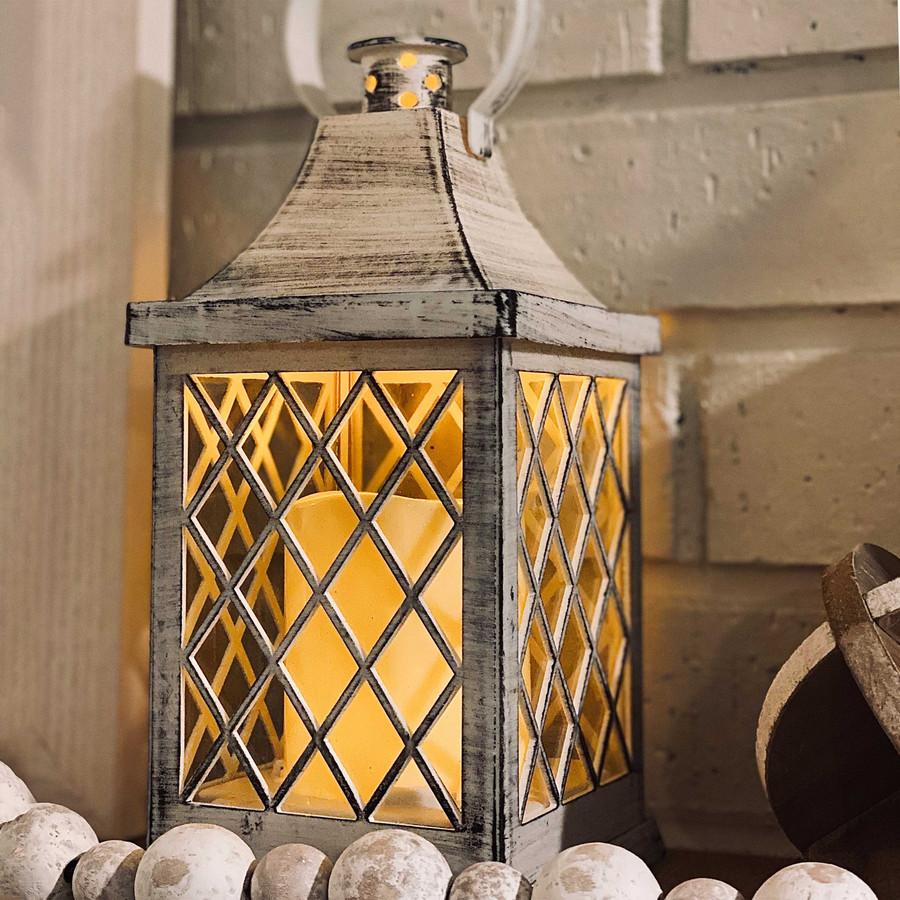 Ligonier Indoor Decorative LED Candle Lantern, Single