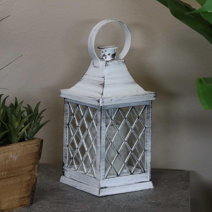 Ligonier Indoor Decorative LED Candle Lantern, Single, Light Off
