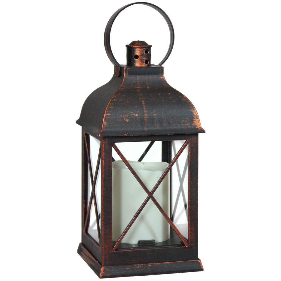 Setauket Indoor Decorative LED Candle Lantern, Single