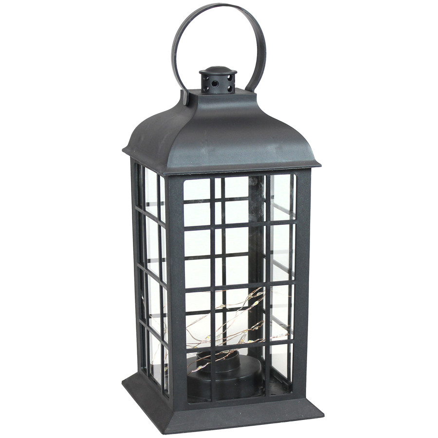 Oyster Bay Indoor Decorative LED Lantern, Single