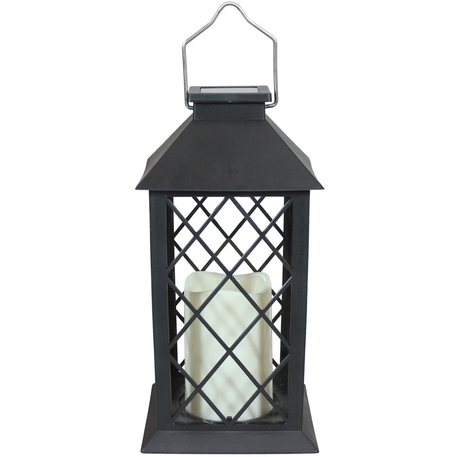 Concord Outdoor Solar LED Decorative Candle Lantern