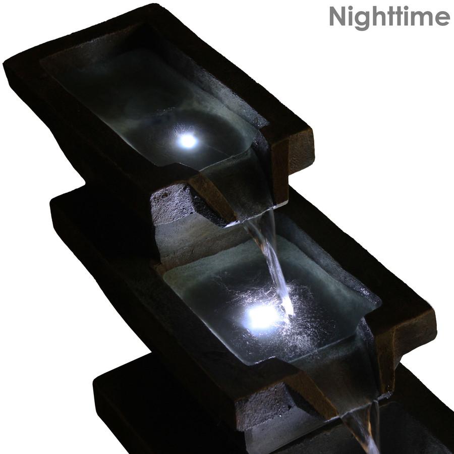 Nighttime View Top Detail