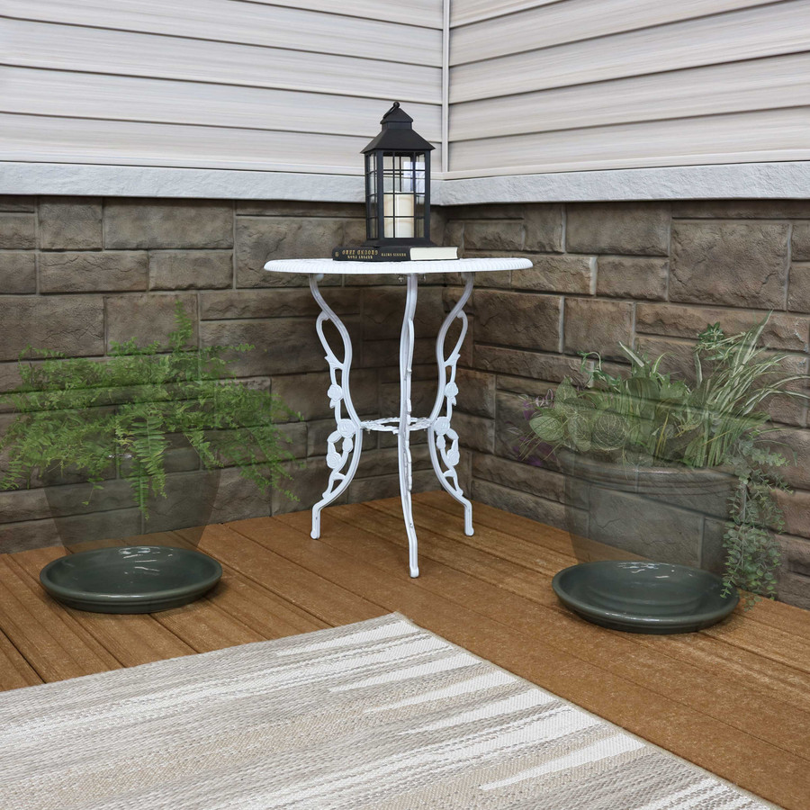 """12"""" Gray - PLANTER NOT INCLUDED"""