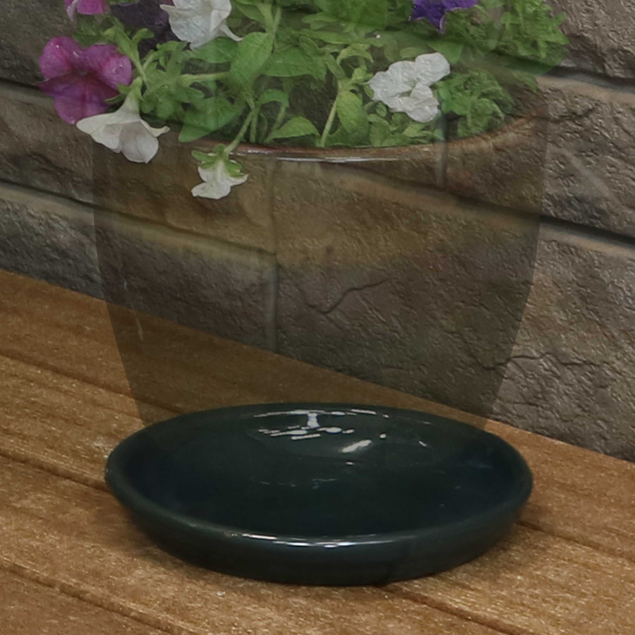 "7"" Forest Lake Green - PLANTER NOT INCLUDED"