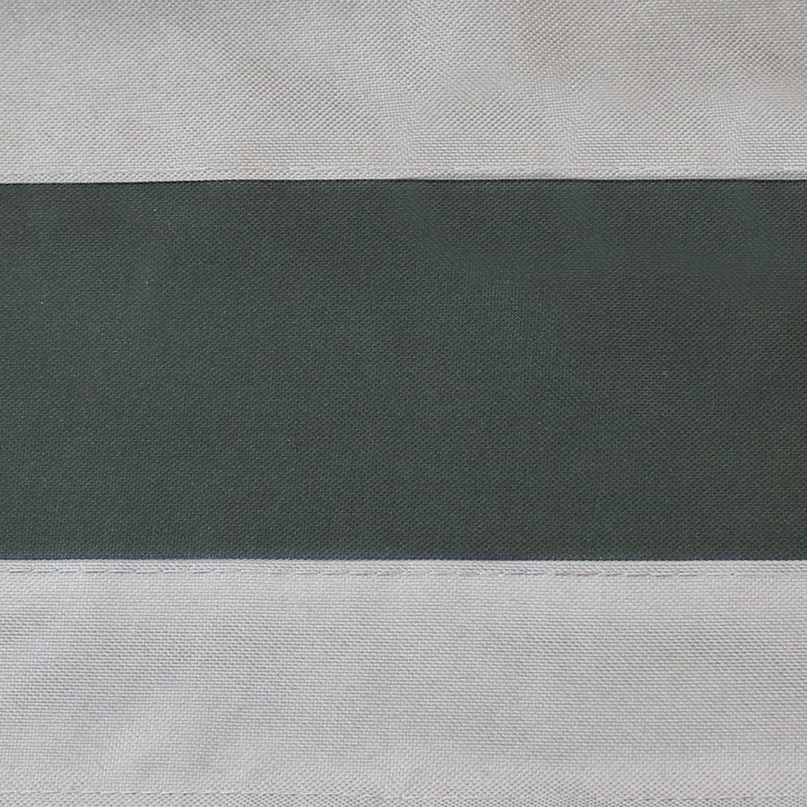 Gray with Green Stripe