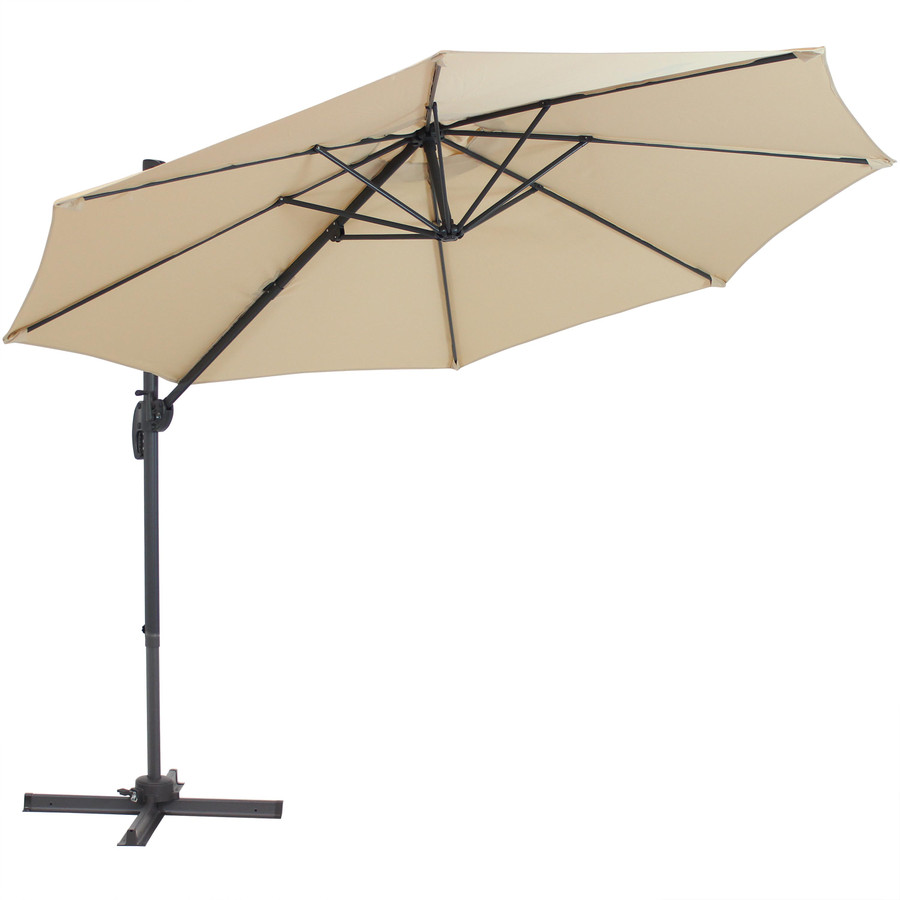 Tilted Umbrella, Beige