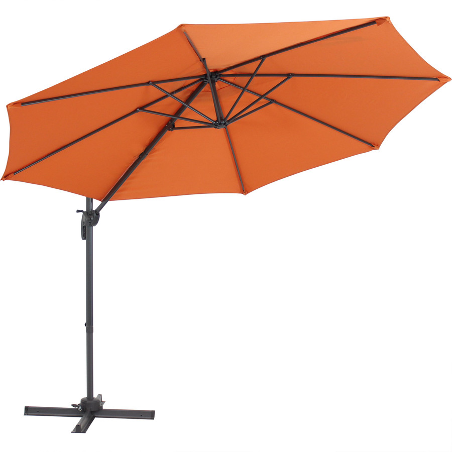 Tilted Umbrella, Burnt Orange