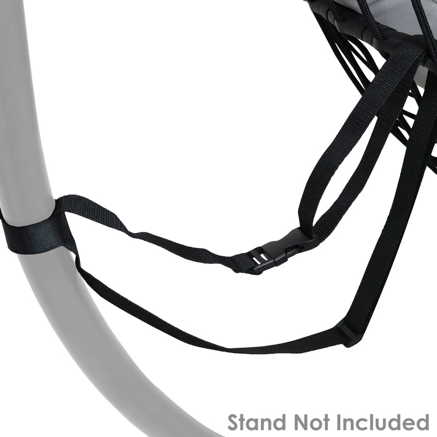 Closeup of Safety Strap (Stand Not Included)