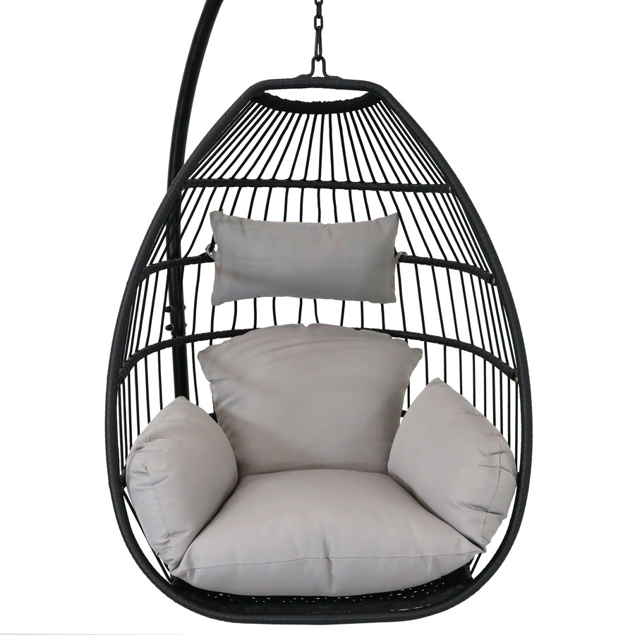 Delaney Steel Hanging Egg Chair