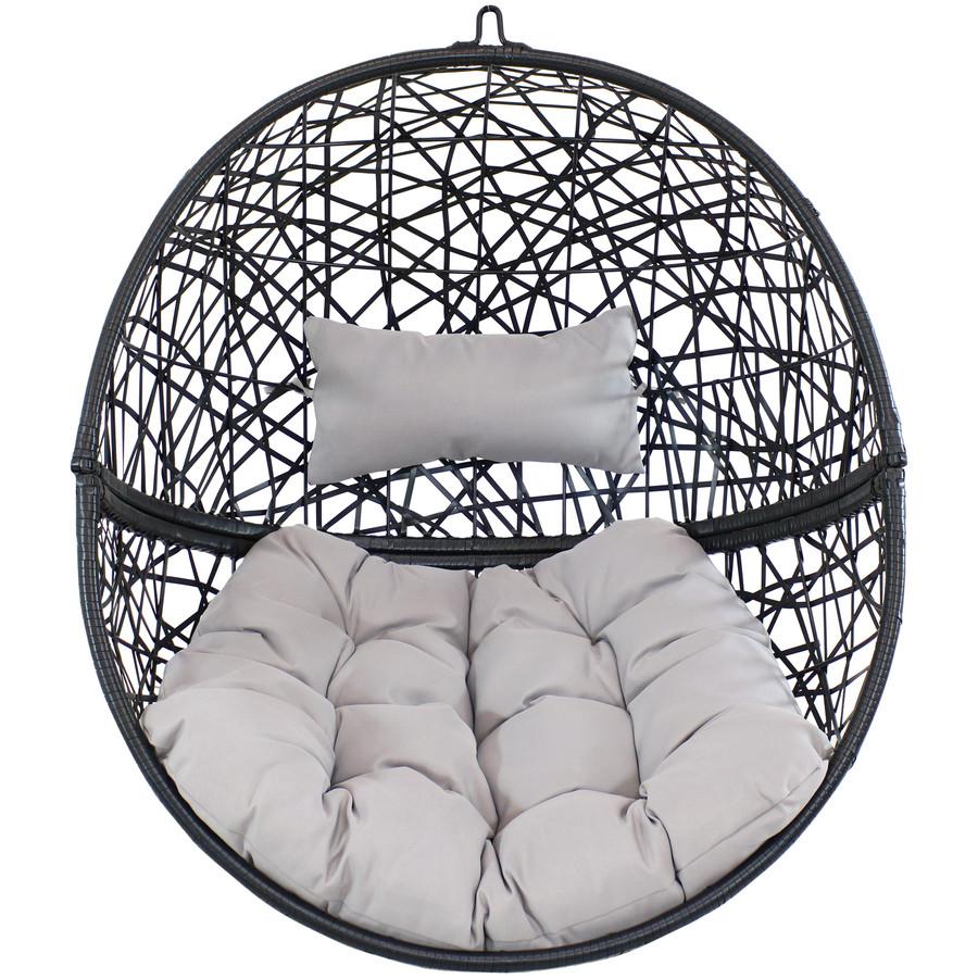 Jackson Hanging Egg Chair, Gray