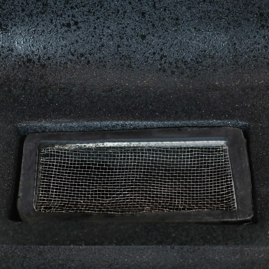 Closeup of Splashguard