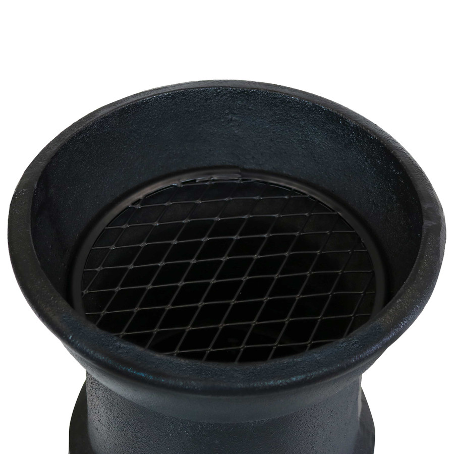 Closeup of Top of Flue without Cap