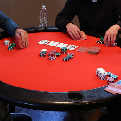 poker table height