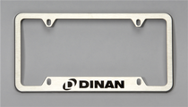 Dinan License Plate Frame - Brushed