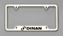 Dinan License Plate Frame - Brushed