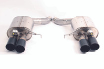 Dinan Free Flow Stainless Exhaust with Black Tips for BMW F13 M6