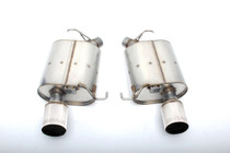 Dinan Free Flow Stainless Exhaust with Polished Tips for BMW F10 535i