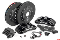 APR Brake Kit, MK7 GTI/A3/TT, 350mm w/Black Calipers
