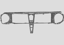 MK2 Radiator Support, Round Headlights