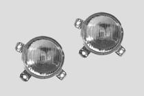 MK2 Quad Round Inner Headlights, L/R