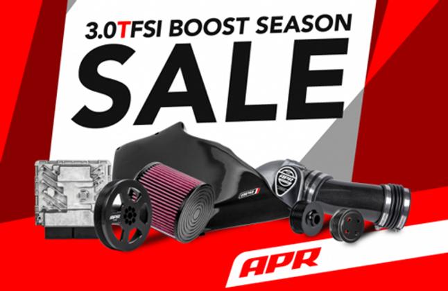 APR 3.0 TFSI Boost Season Sale!