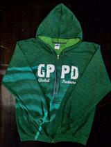 GPPD Zip Hoodie - Green