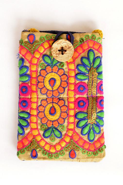 Passport/Phone Bag in Multi