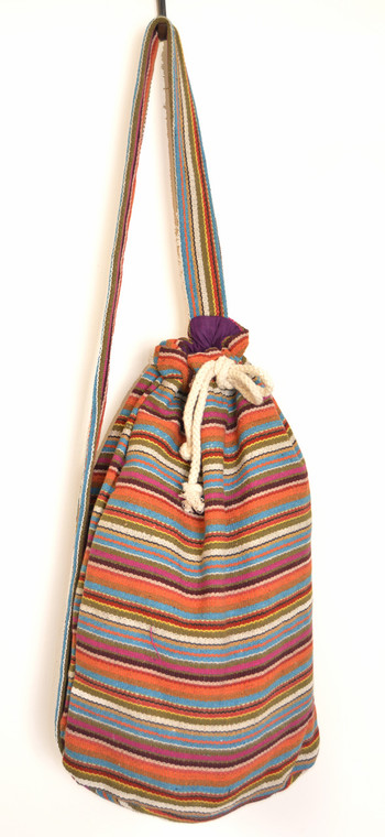 Sling Backpack - Sunset Stripe