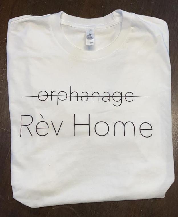 Classic Tee - Rev Home White