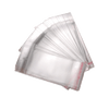 Cellophane bags with hanging headers suitable for retail displays.